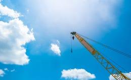 Mobile construction crane. Royalty Free Stock Photo