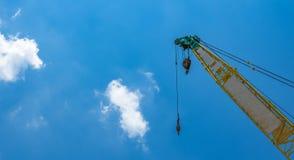 Mobile construction crane. Stock Images