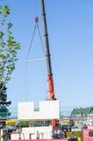 Mobile construction crane Stock Image