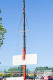Mobile construction crane Royalty Free Stock Photography