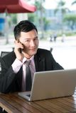 Mobile consultant Stock Images