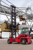 Mobile container handler Stock Images