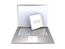 Mobile CPU Stock Image