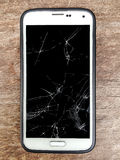 Mobile cracks Royalty Free Stock Photography