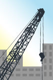 Mobile crane Royalty Free Stock Photography