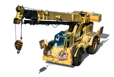 Mobile Crane Royalty Free Stock Image