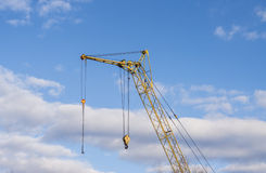 Mobile crane boom Royalty Free Stock Photography