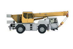 Mobile crane Stock Photography