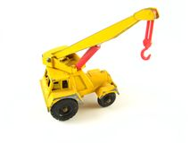 Mobile crane truck Royalty Free Stock Photo