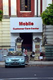 Mobile customer care center Stock Photography