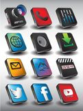 Mobile 3D Pack1 Stock Photography