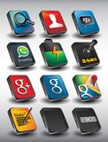 Mobile 3D Pack2 Stock Photography