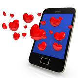 Mobile Dating Stock Photos