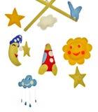 Mobile de bébé Image libre de droits