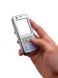 mobile de main Image libre de droits
