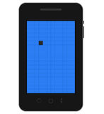 Mobile dead pixel Royalty Free Stock Images