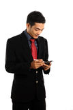 Mobile device. Mobile gadgets device for business activity such as internet banking etc Stock Photos