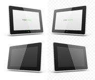 Mobile device hd tablet screen template Royalty Free Stock Photo