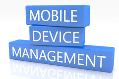 Mobile Device Management Stock Images