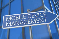Mobile Device Management Royalty Free Stock Images