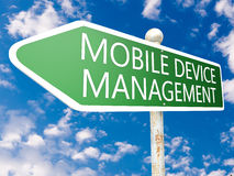 Mobile Device Management Royalty Free Stock Image