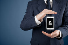 Mobile device security Royalty Free Stock Photography