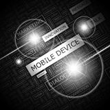 MOBILE DEVICE Royalty Free Stock Photo