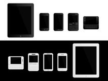 Mobile Devices Black and White Stock Photography
