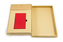 Mobile devices. Box squares. Red box squares. Small device electricity to recharge of smart phone Royalty Free Stock Images