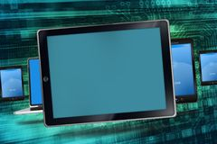 Mobile Devices Concept Royalty Free Stock Photos