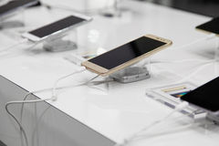 Mobile devices store Royalty Free Stock Photo