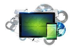 Mobile Devices Technology Royalty Free Stock Images