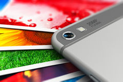 Mobile digital photography concept Royalty Free Stock Images