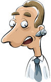 Mobile Ear Phone Royalty Free Stock Image