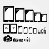 Mobile electronics Stock Images