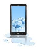 Mobile et glace illustration libre de droits