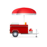 Mobile fast food shop. Stock Photography