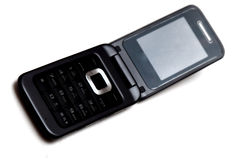 Mobile Flip Phone Royalty Free Stock Images