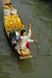 A Mobile Floating Market Royalty Free Stock Image