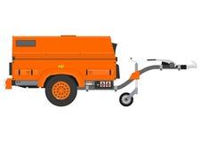 Mobile generator. Stock Photo