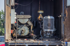 Mobile generator truck mounted 2 Royalty Free Stock Images