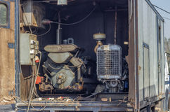 Mobile generator truck mounted Royalty Free Stock Images