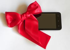 Mobile gift stock images
