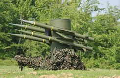 Anti Aircraft Missile System. Stock Photo