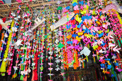 Mobile Hanging garland Royalty Free Stock Photography
