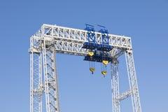 Crane, ship-to-shore crane elements royalty free stock photo