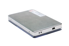 Mobile hard disk Royalty Free Stock Photography