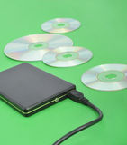 Mobile hard disk Royalty Free Stock Photos