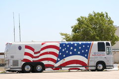 Mobile Health Care Bus. Moblie Health Care Bus for VA Royalty Free Stock Image