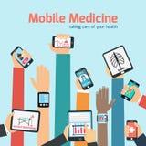 Mobile health concept Stock Photo